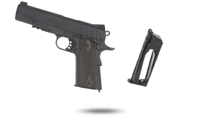 Pack Xtended COLT M1911 Rail Gun Black mat CO2