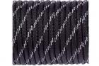 Paracorde Type III 550 réfléchissante Black (10m)