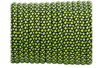 Paracorde Type III 550 Sofit Green Snake (10m)