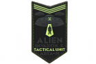 Patch Alien Invasion Tactical Unit fluorescent JTG