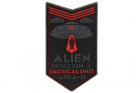 Patch Alien Invasion Tactical Unit rouge JTG