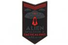 Patch Alien Invasion Tactical Unit rouge JTG