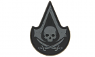Patch Assassin Skull SWAT Rubber JTG