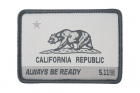Patch california state Gris 5.11