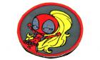 Patch Deadpool Girl Mil'brod et merveilles pour tenue airsoft