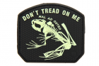 Patch Don\'t Tread on me Frog fluorescent JTG