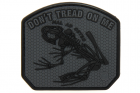 Patch Don\'t Tread on me Frog Gris JTG