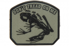 Patch Don\'t Tread on me Frog Ranger Green JTG