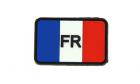 Patch France Flag Color Rubber JTG