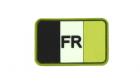 Patch France Flag Forest Rubber JTG