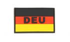 Patch German Flag Color Rubber JTG