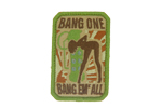 Patch Mil-Spec Monkey - Bang Em\' All COLOR