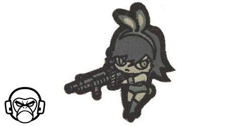 Patch Mil-Spec Monkey - Bunny Girl ACU