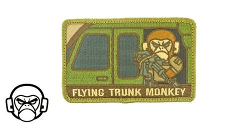 Patch Mil-Spec Monkey - Flying Trunk Monkey