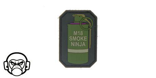 Patch Mil-Spec Monkey - Smoke Ninja COLOR