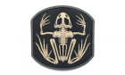 Patch Mil-Spec Monkey Frog Skeleton PVC SWAT