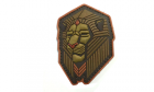 Patch Mil-Spec Monkey Industrial Lion PVC Bronze