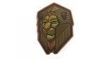 Patch Mil-Spec Monkey Industrial Lion PVC Bronze