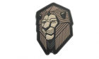 Patch Mil-Spec Monkey Industrial Lion PVC Urban