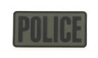 Patch Mil-Spec Monkey Large Police PVC OD