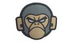Patch Mil-Spec Monkey Monkey Head PVC ACU-Dark