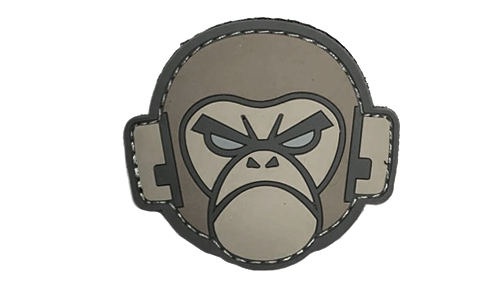 Patch Mil-Spec Monkey Monkey Head PVC ACU-Light