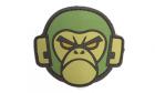 Patch Mil-Spec Monkey Monkey Head PVC Forest