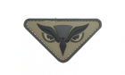 Patch Mil-Spec Monkey Owl Head PVC ACU