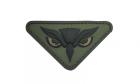 Patch Mil-Spec Monkey Owl Head PVC Forest