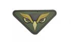 Patch Mil-Spec Monkey Owl Head PVC Multicam