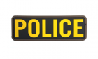 Patch Mil-Spec Monkey Police PVC Gold