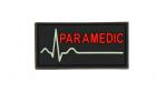 Patch Paramedic Color Rubber JTG