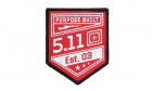Patch Purpose Built Range Red 5.11