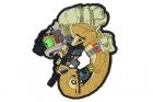 Patch PVC Chameleon Operator Desert Helikon