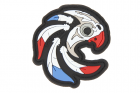Patch PVC Indian Skull Patriot OPS-store