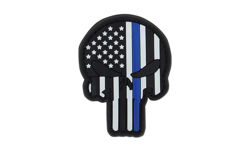 Patch PVC Punisher Blue Line CONDOR