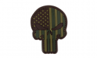 Patch PVC Punisher Multicam CONDOR