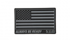 Patch PVC USA FLAG Black 5.11