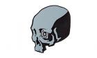 patch Skull shot Grey