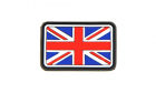 Patch Small Great Britain Flag Color Rubber JTG