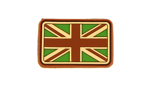Patch Small Great Britain Flag Multicam Rubber JTG