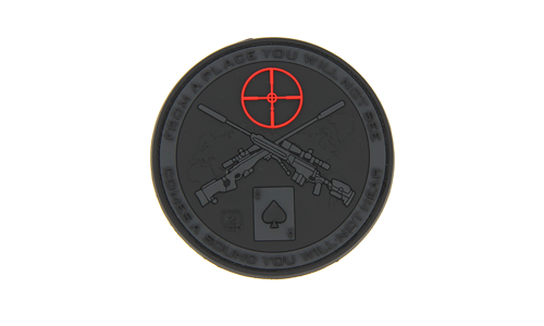 Patch Sniper BlackOps Rubber JTG
