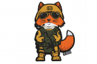 Patch Tactical Fox Marine Recon 5.11