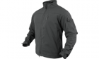 Manteau coupe vent gamme Phantom Soft shell Jacket couleur Graphite de marque CONDOR