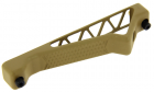 Poignée angulaire aluminium Keymod DE METAL pour réplique airsoft aeg