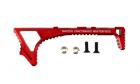 Poignée Link Curved Keymod Rouge METAL
