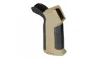 Pistol grip ARES AMOEBA Beavertail Backstrap BK / DE