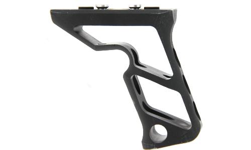 Poignée tactique Angled Grip Keymod METAL reproduction PTS Fortis pour réplique airsoft aeg