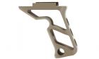 Poignée tactique Angled Grip Picatinny DE METAL reproduction pts fortis pour réplique airsoft