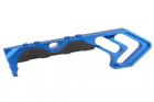 Poignée tactique TD MOD Keymod bleue METAL